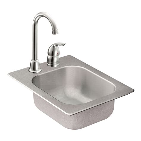 Moen Sink by Moen Tg2045522 2000 Series 20 Single Bowl Drop In