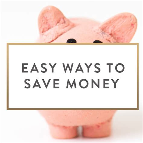 Easy Ways To Economize by Easy Ways To Save Money It Starts With Coffee By