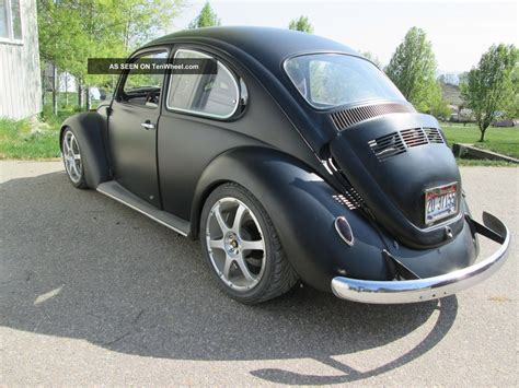 volkswagen beetle modified black black vw beetle bug