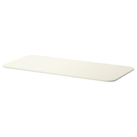 White Table Top by Bekant Table Top White 140x60 Cm