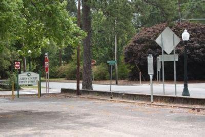 Aiken R 727 aiken hospital aiken county hospital historical marker