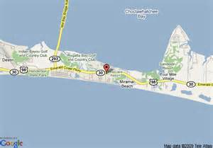 where is destin florida on the map map of inn destin destin