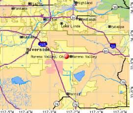 moreno valley california map