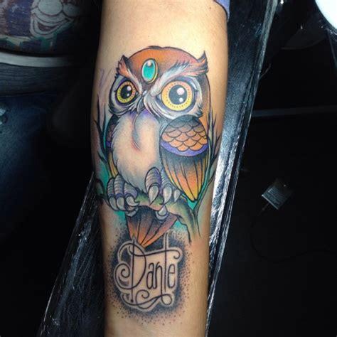 owl jewel tattoo 47 best owl tattoos of all time tattooblend