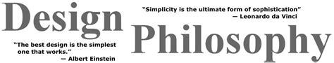 design is philosophy rick thompson design engineer