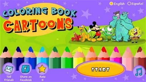 coloring book cartoons