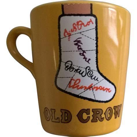 leg l mug vintage quot quot bourbon broken leg mug from