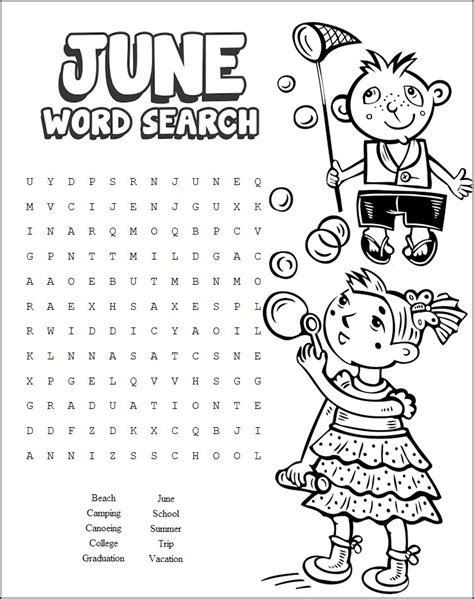 printable word search summer 13 cool printable summer word searches kitty baby love