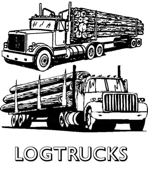 Logging Trucks Clipart (18 )