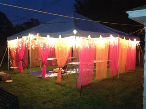 back yard party ideas back yard party tent for mendhi night function