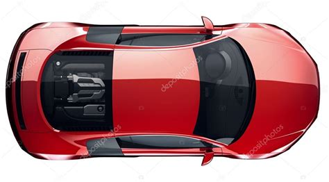 pixel car top view red sports car top view stock photo 169 vladimiroquai