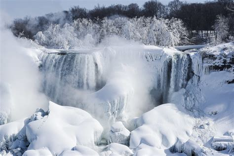 Niagara Falls Marriage Records Niagara Falls Frozen Photos Simplemost