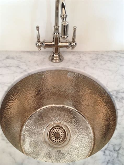 hammered silver bathroom sink hammered metal sink basin bathroom ideas pinterest
