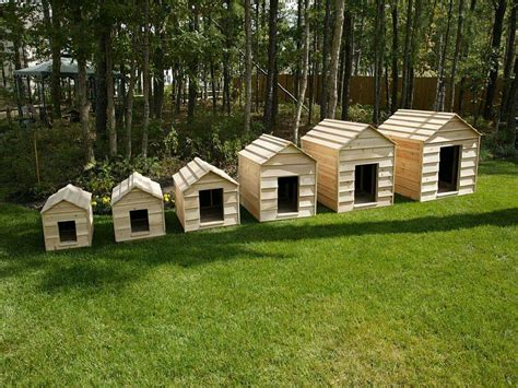 hand built dog houses cedar dog house kit giant 16186