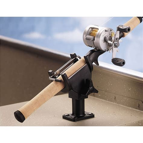 metal boat rod holders berkley quick set boat rod holder piscor