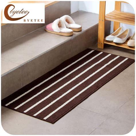 kitchen foot mat byetee striped minimalist mat door mats outdoor mat