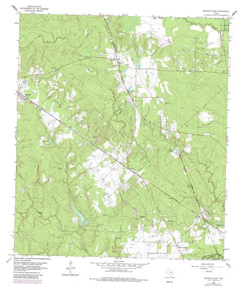 magnolia texas map magnolia east topographic map tx usgs topo 30095b6