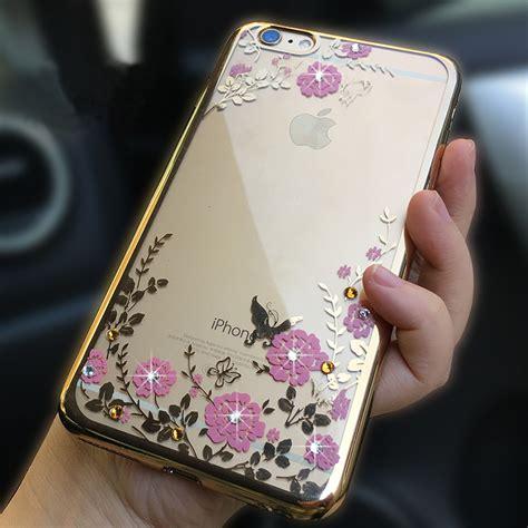 Casing Iphone 6 6s Cover Luxury Silicone iphone se iphone 8 7 6 6s plus 5s luxury