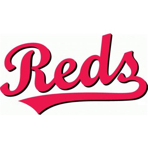 Softball Wall Stickers cincinnati reds script logo decal sticker version 2 stk