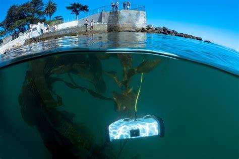 Drone Underwater underwater drone makes waves on kickstarter