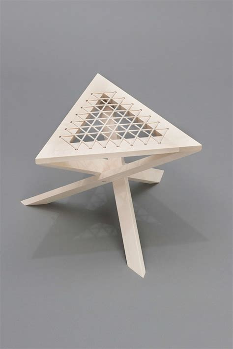Continuous Stool continuous triangle stool on student show