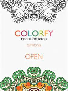coloring apps for adults colorfy coloring book for adults free on the app store