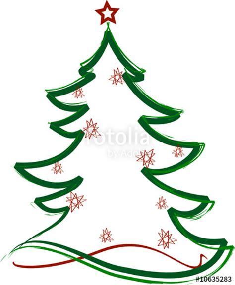 clipart albero di natale quot albero di natale decorato quot immagini e vettoriali royalty