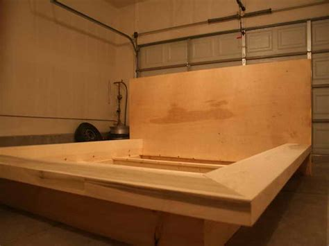 plywood bed frame bedroom plans for building a bed frame with plywood