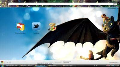 theme google chrome dragon toothless the dragon chrome theme themebeta