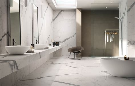 Calacatta Statuario   Bathroom Design Malta