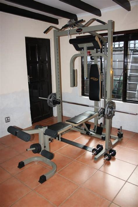 home gyms trojan power cage home gym  sold