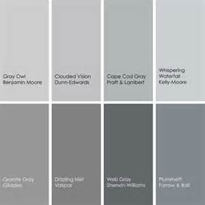 gray paint colors gray paint color names