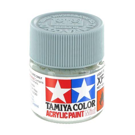 light blue acrylic paint tamiya colour acrylic paint xf 23 light blue 10ml hobbycraft