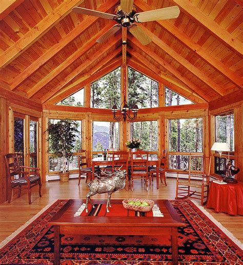 log cabin great room pictures log home great room with mountain views cabin pinterest