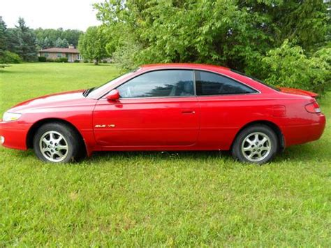 1999 Toyota Solara Mpg Sell Used 1999 Toyota Solara Sle Coupe 2 Door 3 0l In Clio