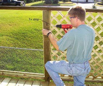 building  privacy screen   deck  homes