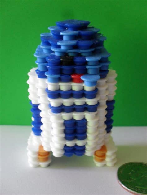 perler bead 3d 1000 images about 3d perler pattern on