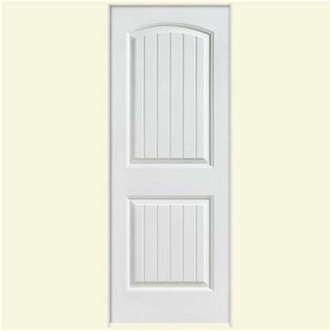 solid interior doors home depot masonite 30 in x 80 in solidoor cheyenne smooth 2 panel