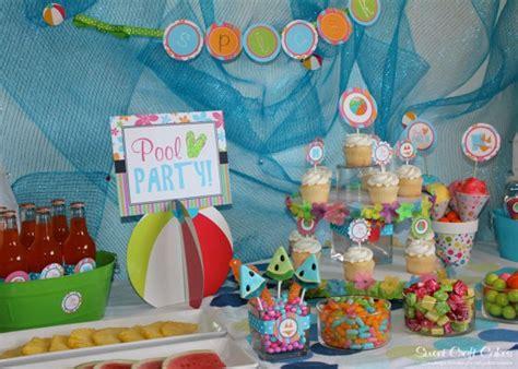 pool party decorations pool party decorations beach ball birthday pinterest