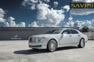 Bentley Mulsanne On Rims Bentley Mulsanne Savini Wheels Bs5 Savini Wheels
