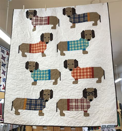 dogs in sweaters a quilting sheep dogs in sweaters