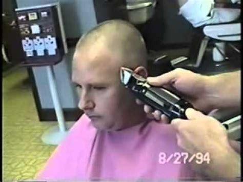 standard businessmans haircut sheared down businessman cut to near bald youtube