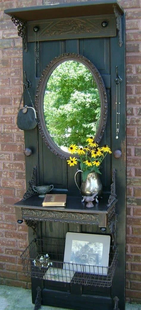 Repurposing Old Doors Pinterest Repurposed Door For The Home Pinterest