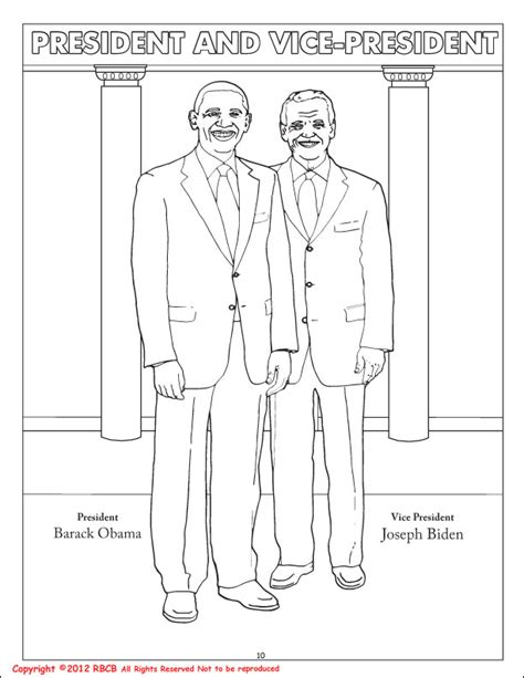coloring books president barack obama vice president joe