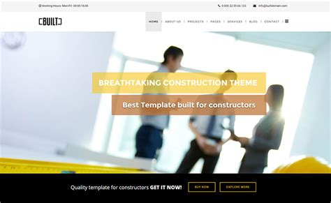 joomla template under construction free 20 responsive construction joomla templates free website