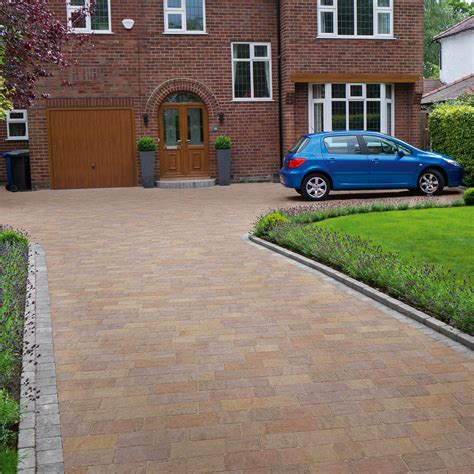 Patio Brick Laying Guides Drivesett Tegula Original Block Paving Marshalls Co Uk