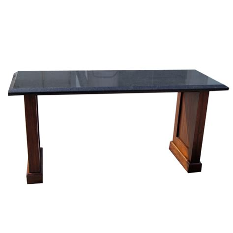 60 sofa table 60 quot vintage granite console table ebay