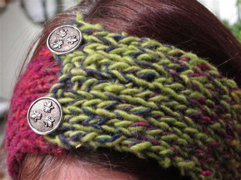 knitted headbands pattern with button how to knit a headband 29 free patterns guide patterns