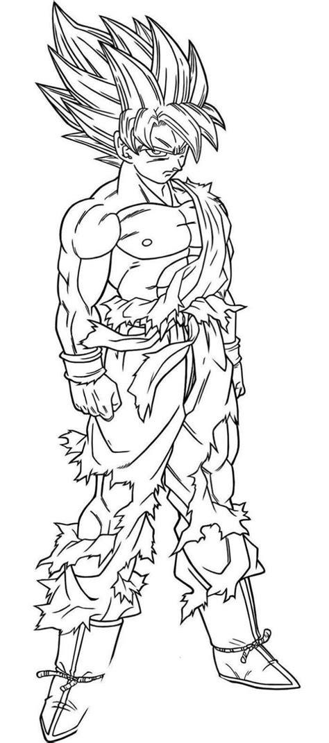 dragon ball z para colorir 2 - Desenhos para Colorir