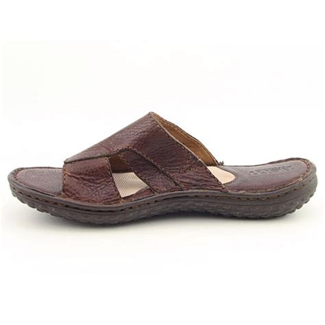 born leather sandals born leather sandal womens sz 8 brown sandals slides